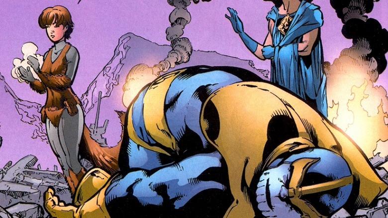 Squirrel Girl vs. Thanos