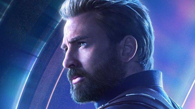 Chris Evans as Captain America/Steve Rogers in Avengers: Infinity War