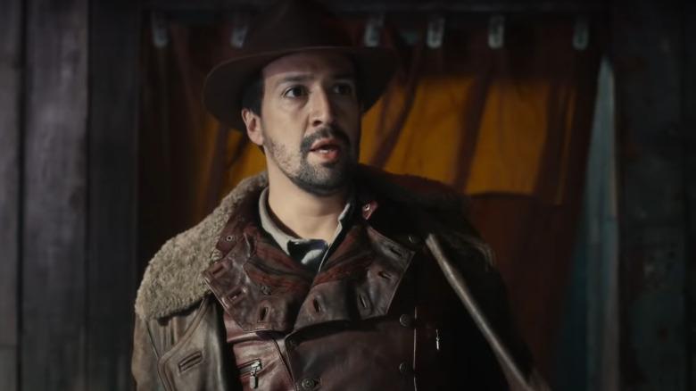 Lin Manuel Miranda as Lee Scoresby on His Dark Materials
