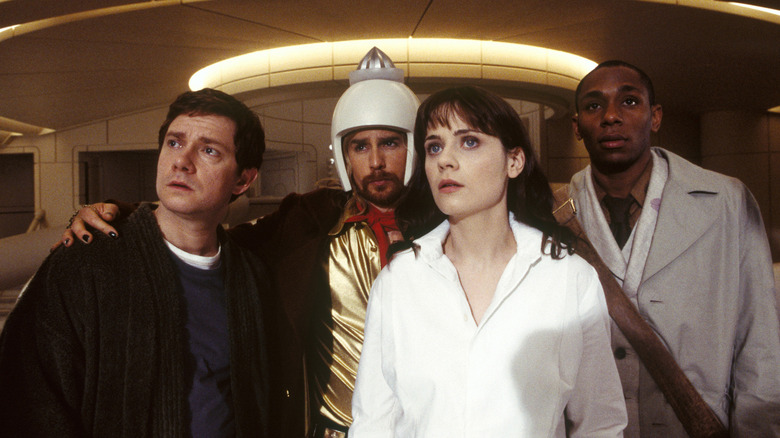Still from The Hitchhiker's Guide to the Galaxy