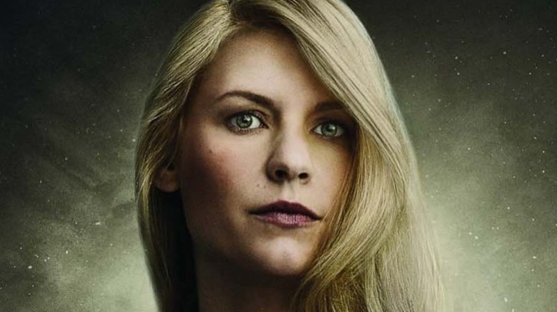 Claire Danes in Homeland on Showtime