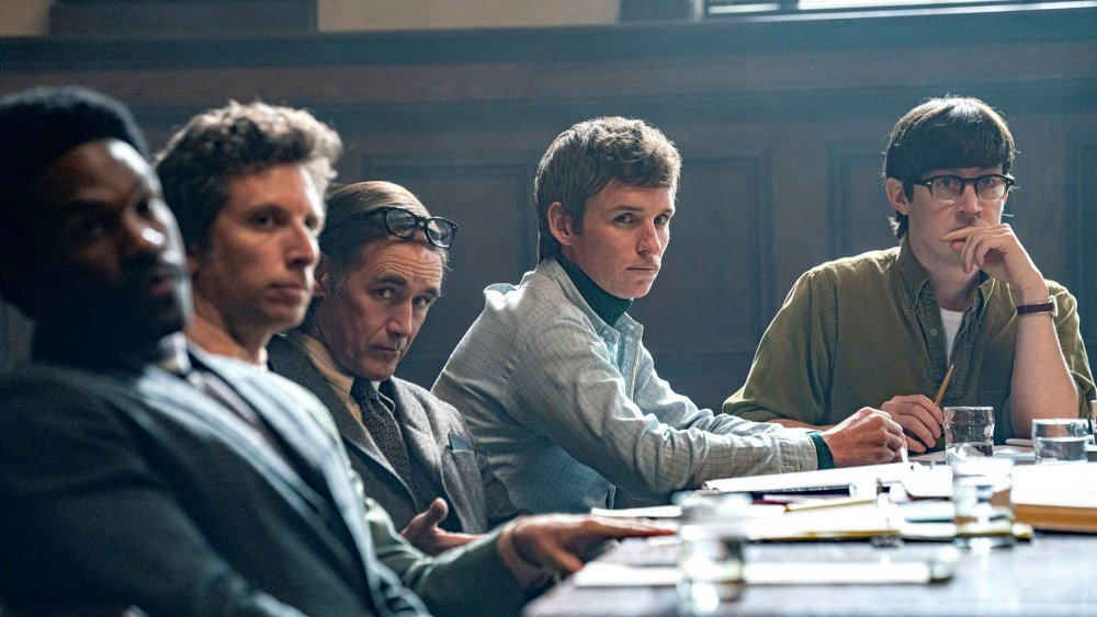 An all-star cast leads Aaron Sorkin's latest film, The Trial of the Chicago 7