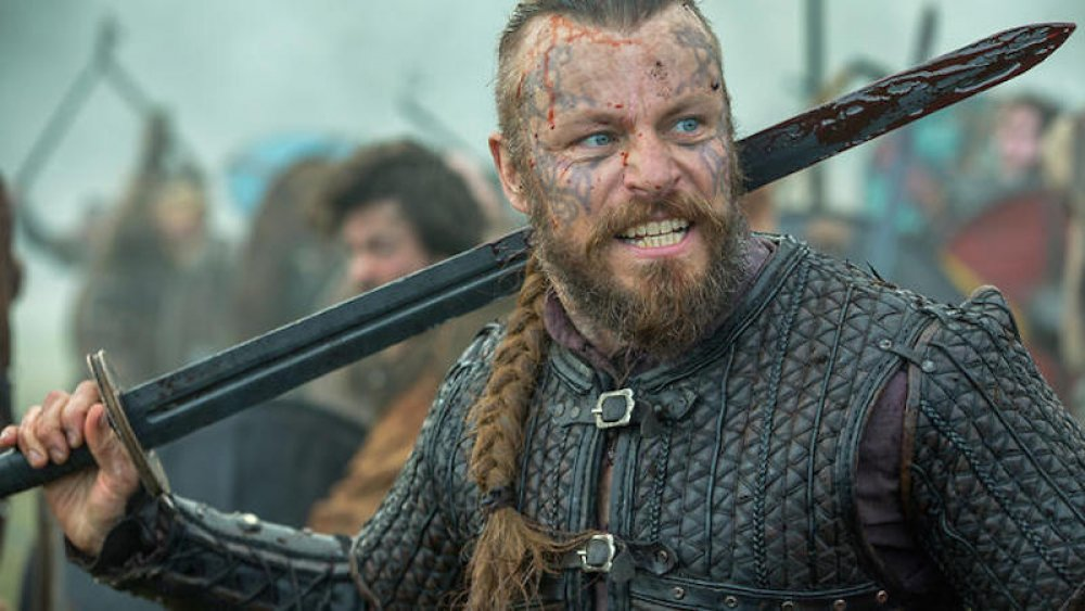 Peter Franzen as King Harald on Vikings