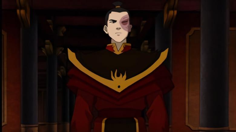 Zuko on Avatar: The Last Airbender