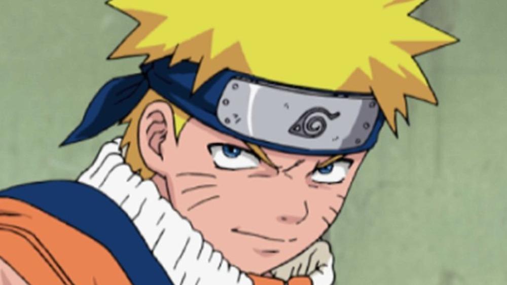 Naruto looks serious