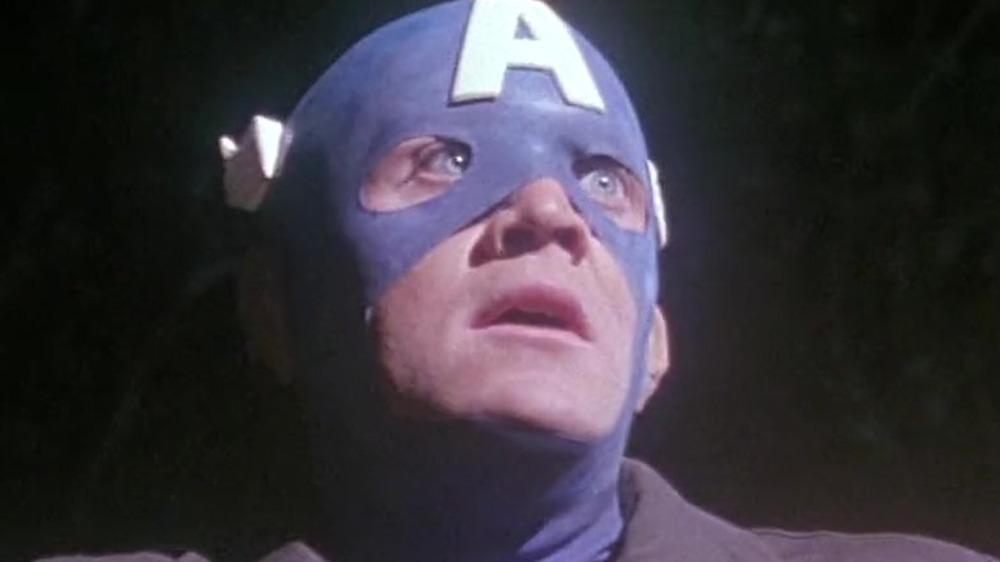 Actor Matt Salinger as Captain America