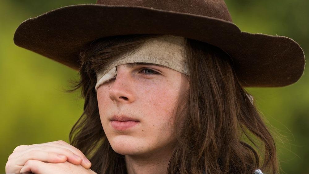 Carl Grimes eyepatch hat
