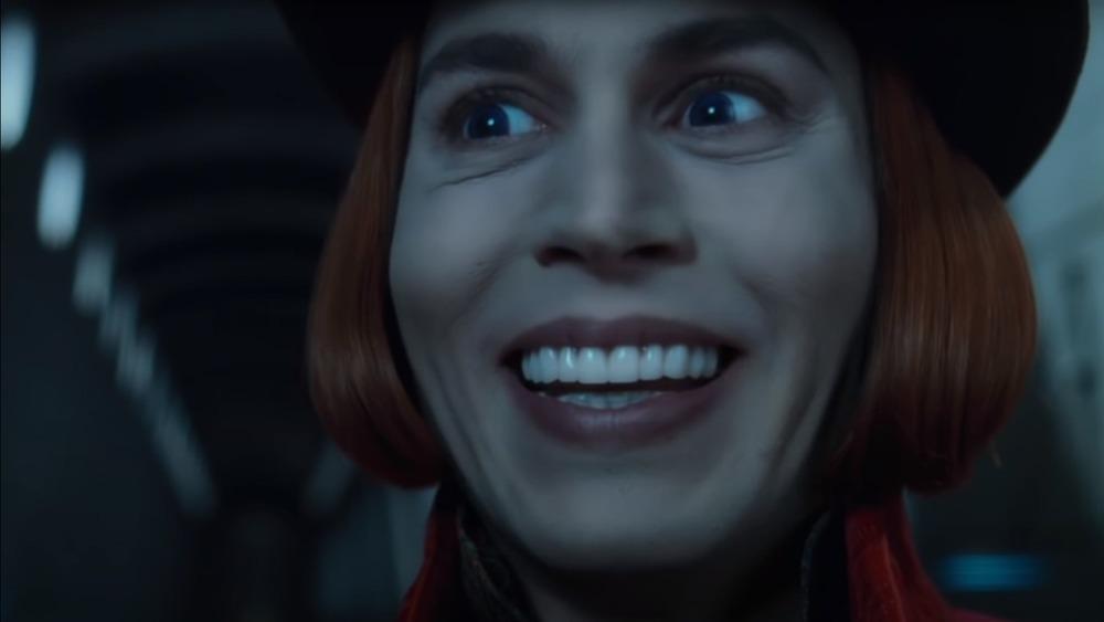 Willy Wonka smiling