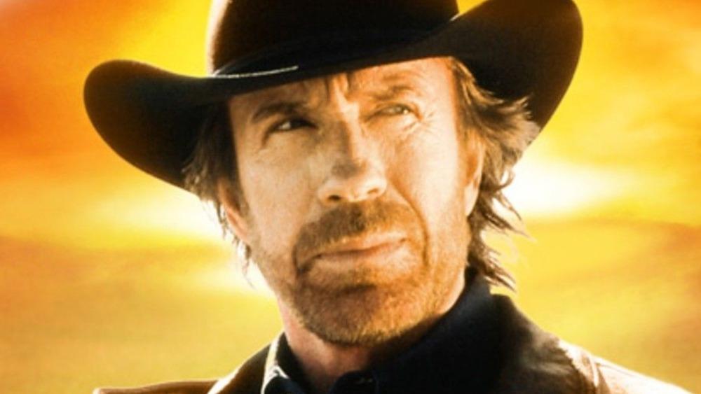 Walker (Chuck Norris) wears a cowboy hat