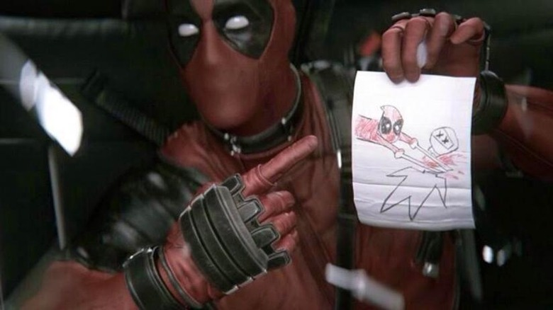 CGI Ryan Reynolds in Deadpool