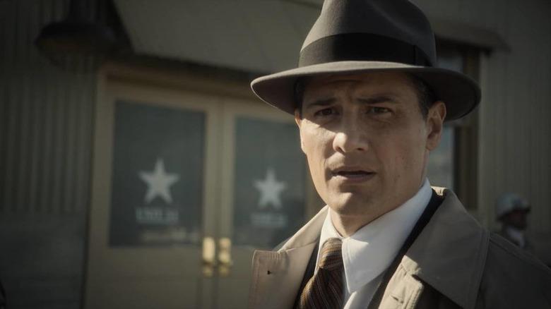 Enver Gjokaj as Agent Sousa on Agents of S.H.I.E.L.D.