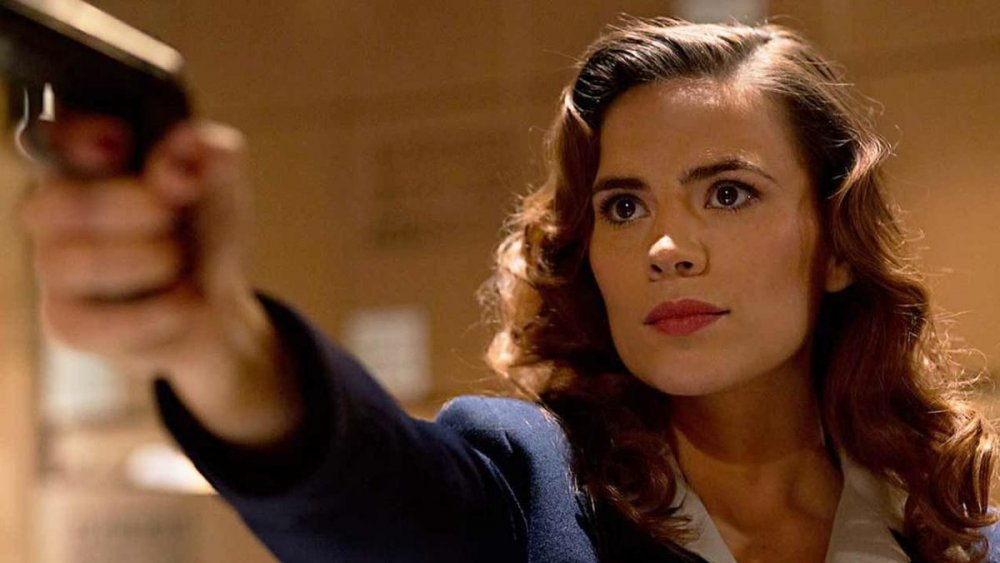 Hayley Atwell as the titular Agent Carter