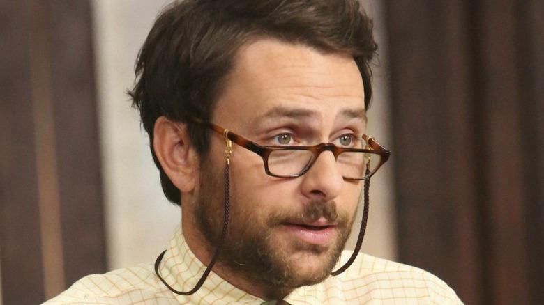 Charlie wearing glasses