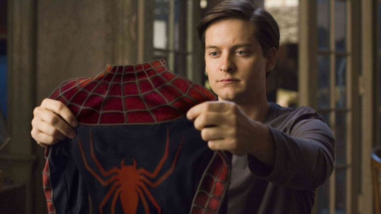 Tobey Maguire as Peter Parker in Spider-Man