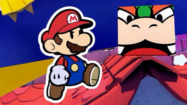 Paper Mario from trailer