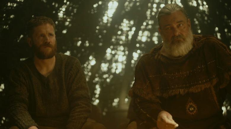 Vikings characters pondering