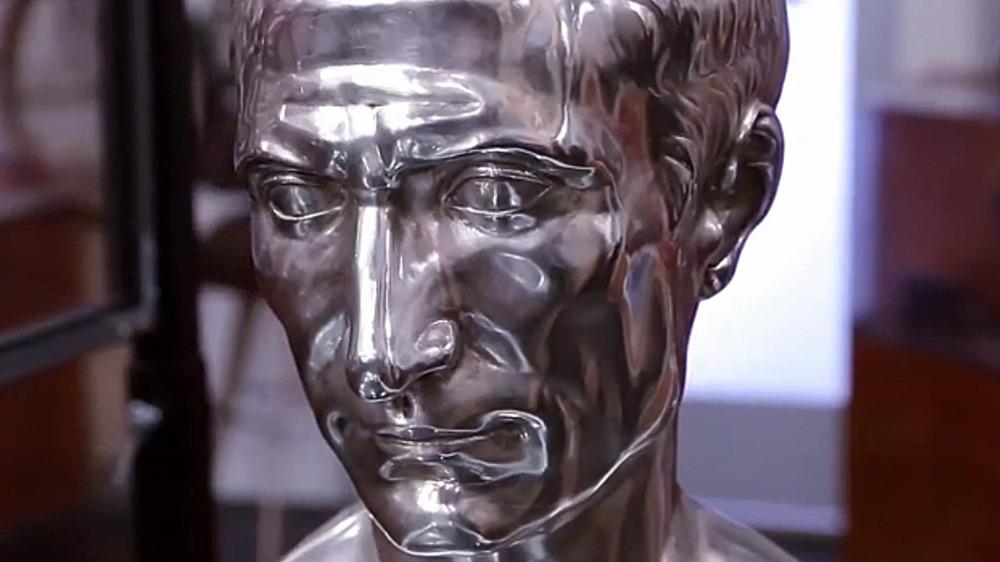 Julius Caesar Silver Bust