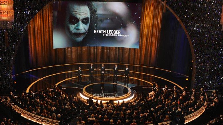 Heath Ledger's posthumous Oscar win