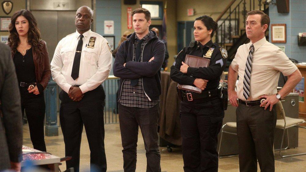 The cast of Brooklyn Nine-Nine