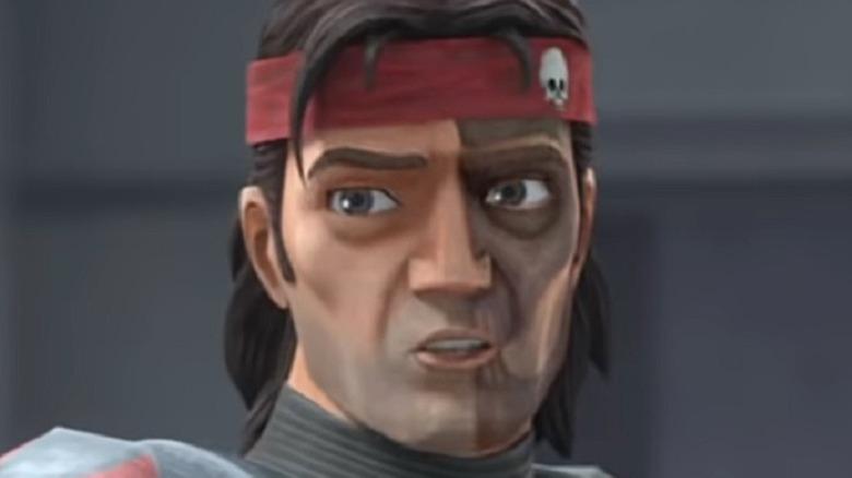 Hunter with headband