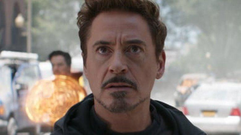 Robert Downey Jr. as Iron Man Avengers: Infinity War