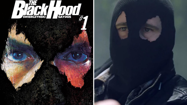 The Black Hood from Riverdale
