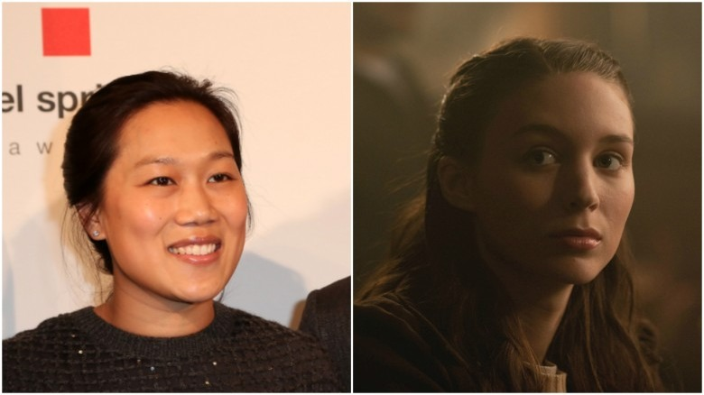 Priscilla Chan and Rooney Mara