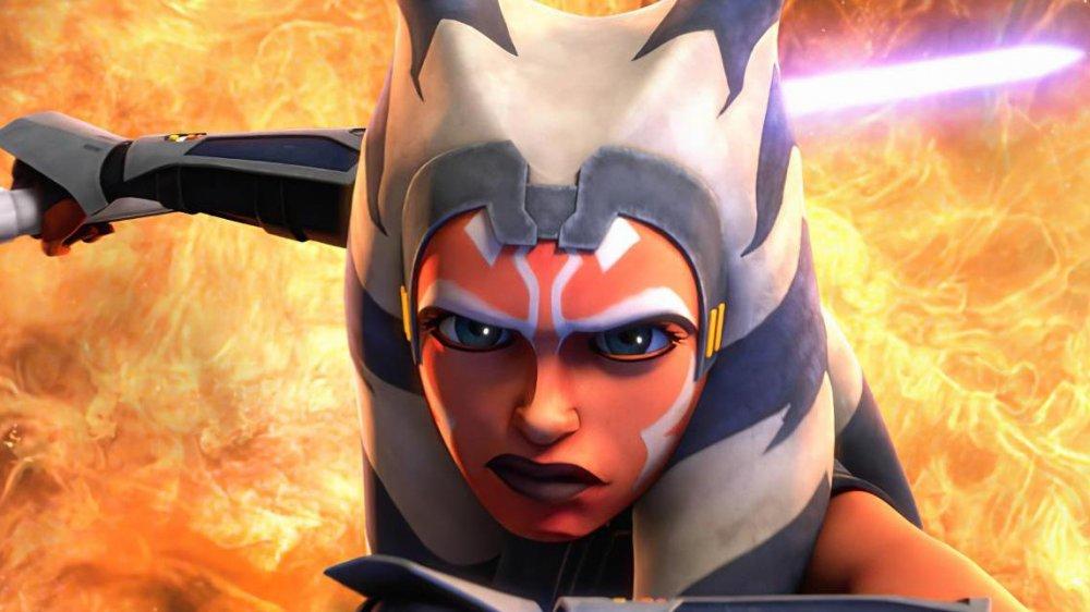 Ahsoka Tano in the final season of Star Wars: The Clone Wars