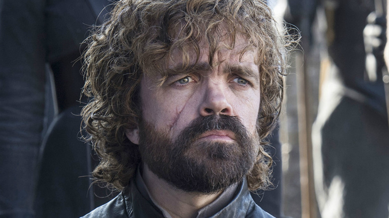 Peter Dinklage as Tyrion Lannister on Game of Thrones