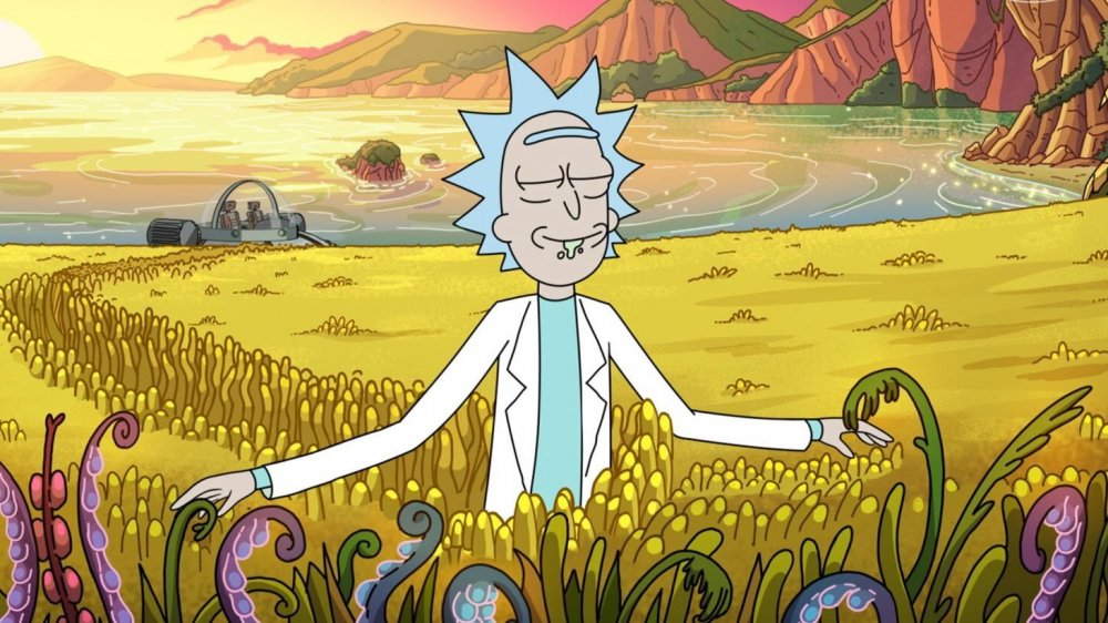 Rick Sanchez on Rick and Morty