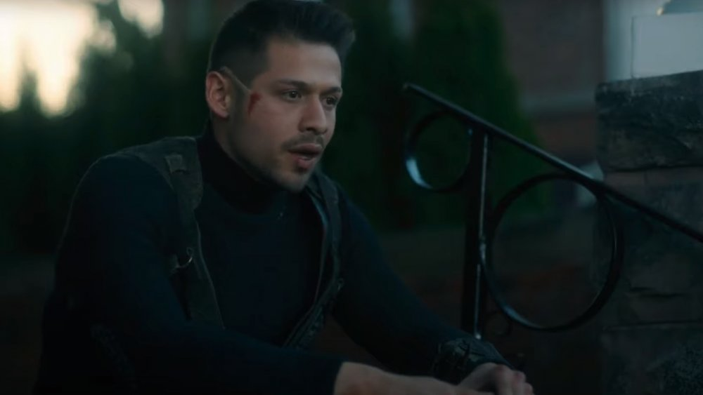 David Castañeda as Diego Hargreeves in The Umbrella Academy