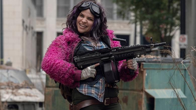 Paola Lázaro as Princess on AMC's The Walking Dead