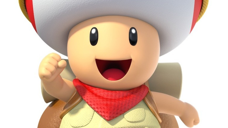 Captain Toad jumps