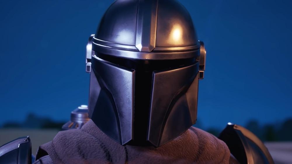 fortnite mandolorian helmet