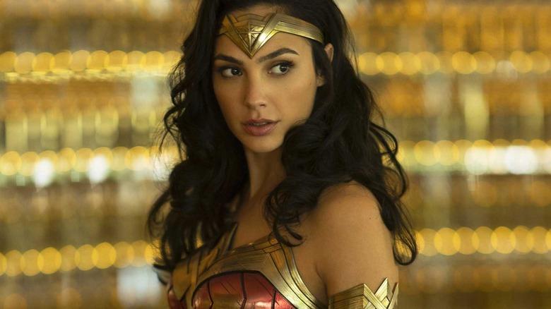 Gal Gadot Wonder Woman looking in distance
