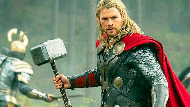 thor with mjolnir