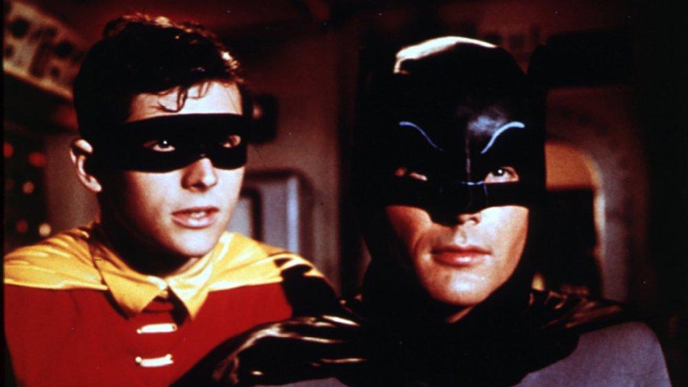 Adam West and Burt Ward in Batman