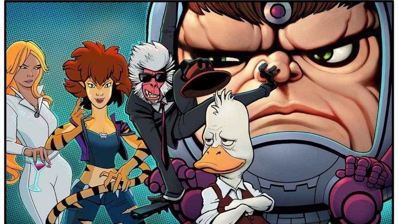 Characters of Hulu Marvel animated series