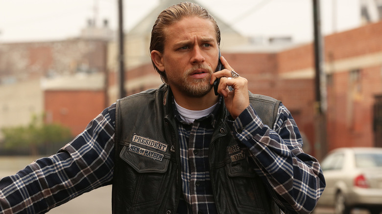 Is Charlie Hunnam anything like Jax Teller in real life?