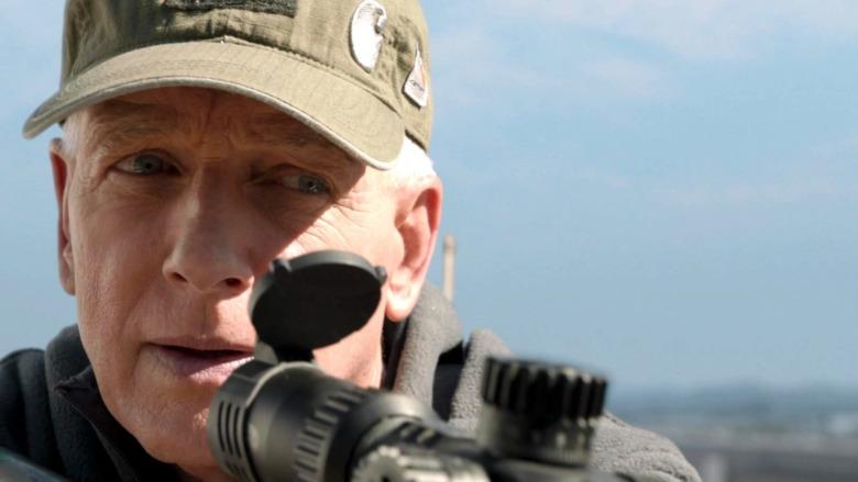 Leroy Jethro Gibbs sniper gun