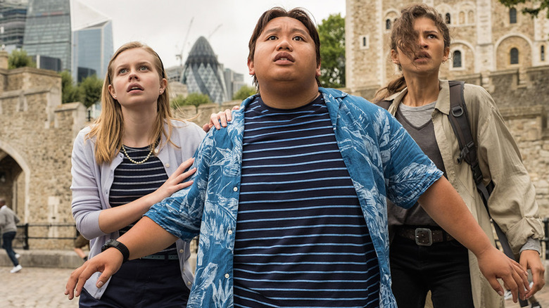 Jacob Batalon as Ned Leeds in Spider-Man: Far From Home