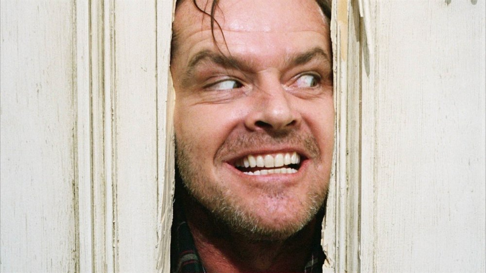 Jack Nicholson from The Shining