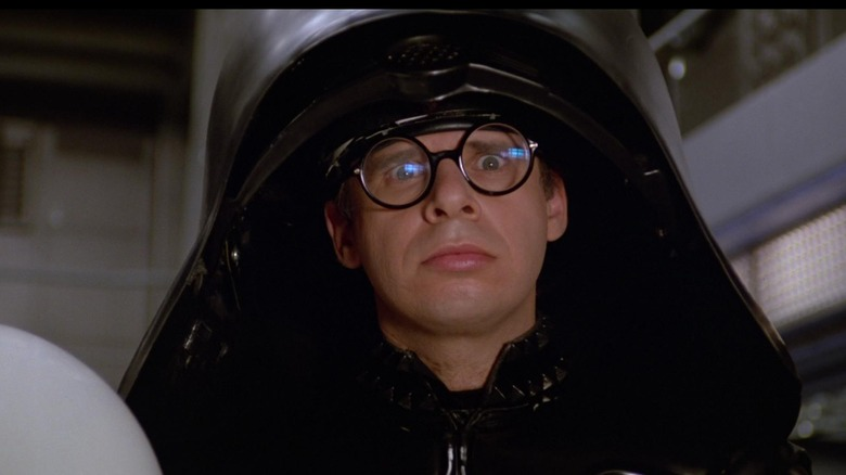 Rick Moranis as Dark Helmet in Spaceballs