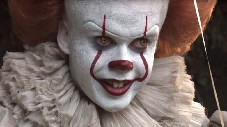 Bill Skarsgard as Pennywise in It: Chapter One