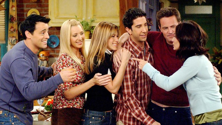 The cast of Friends as seen in the classic series