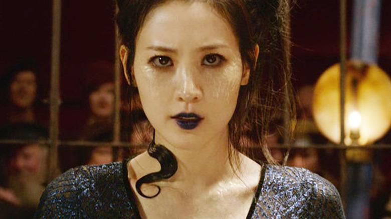 Claudia Kim as Nagini Fantastic Beasts: The Crimes of Grindelwald