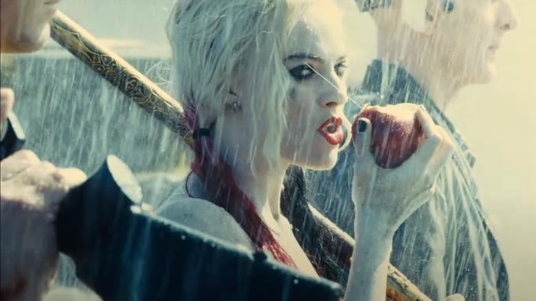 Harley Quinn apple