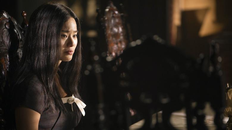 Jamie Chung as Ji-Ah on Lovecraft Country