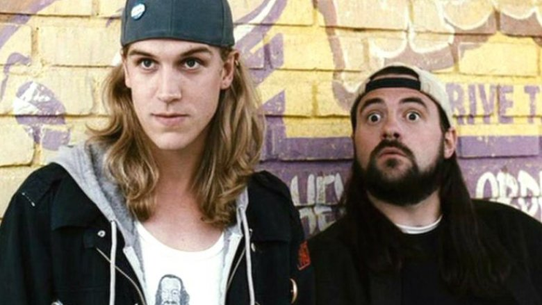 Jason Mewes and Kevin Smith as Jay and Silent Bob