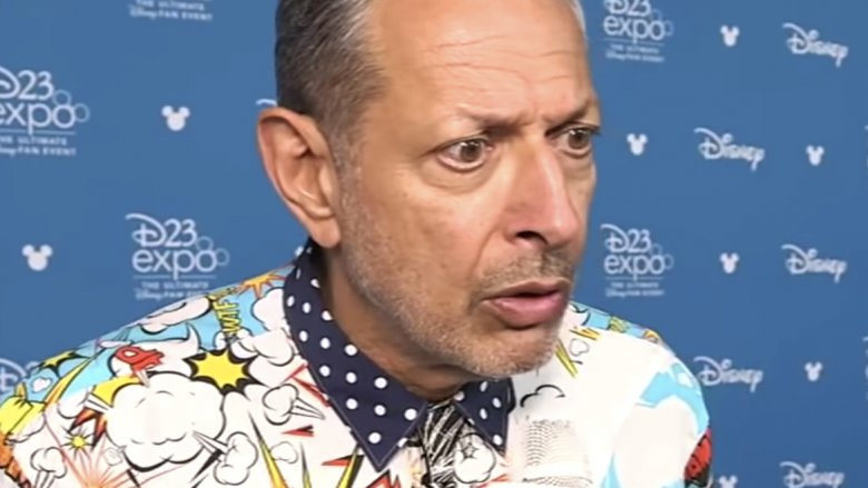 Jeff Goldblum surprised